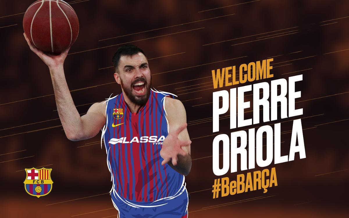 Pierre Oriola, intensidad y lucha para el Barça Lassa