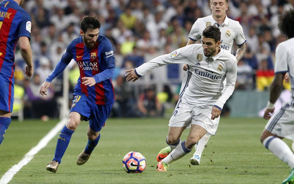 Top horses FC Barcelona and Real Madrid are neck and neck heading into the home stretch