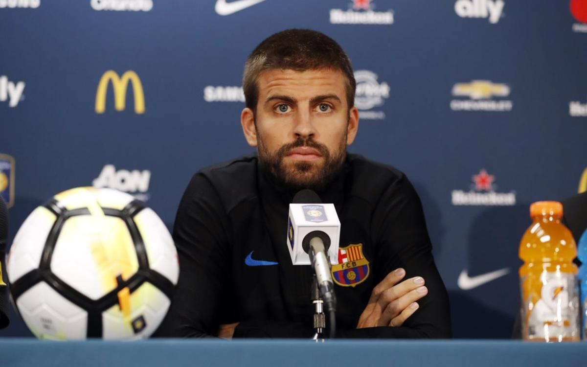 Gerard Piqué on Neymar Jr: 'He's 25 years old and he has a unique talent'
