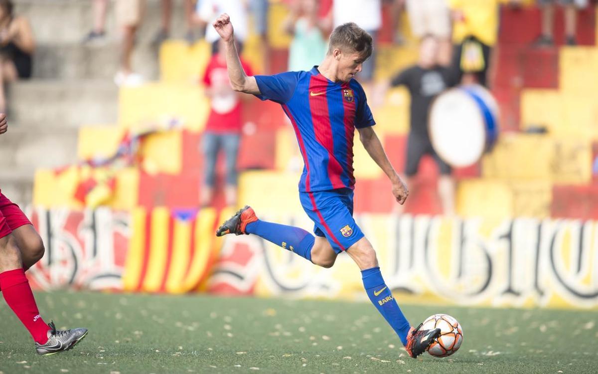 Santboià – Barça B, a la Copa Catalunya