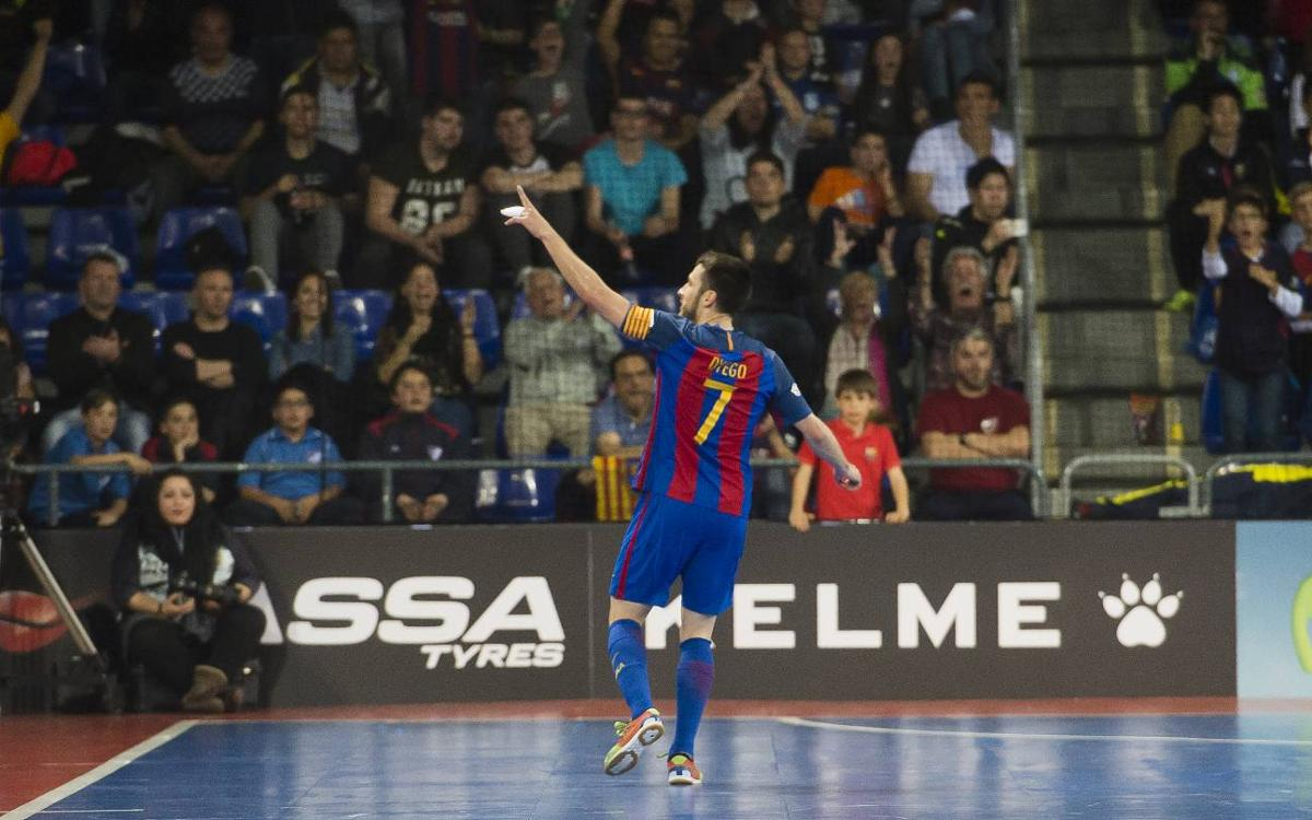 Dyego, MVP de la LNFS 2016/17