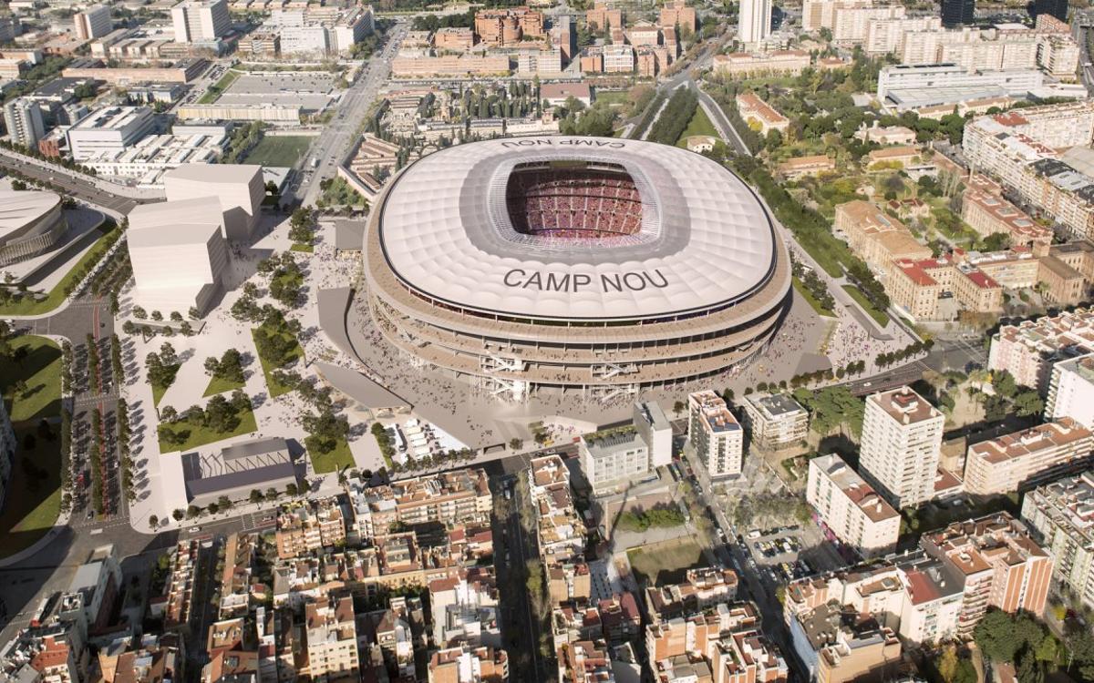 El Ayuntamiento da luz verde a la aprobación inicial de la modificación urbanística para impulsar el Espai Barça