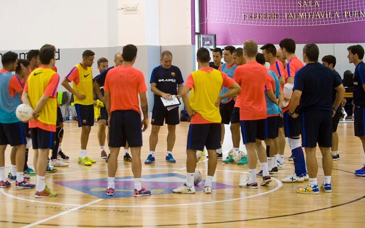 La pretemporada del Barça Lassa arrancará el 2 de agosto