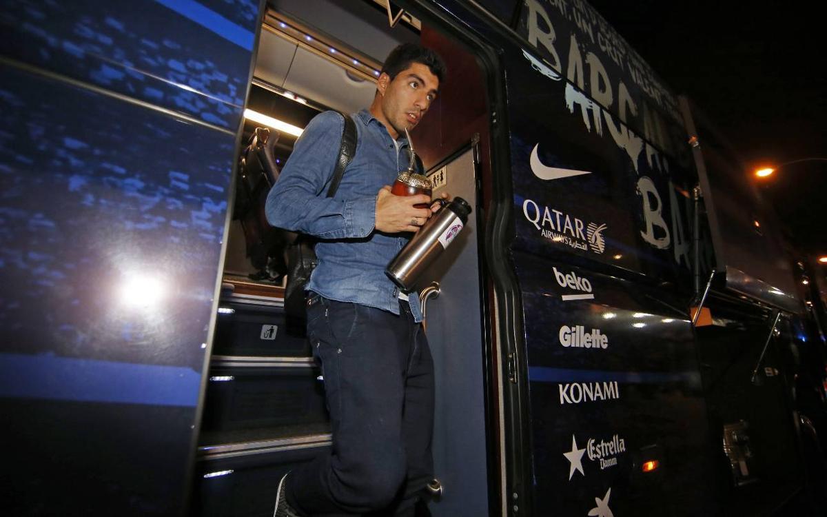 Vidéo - Une journée avec Luis Suarez au FC Barcelone