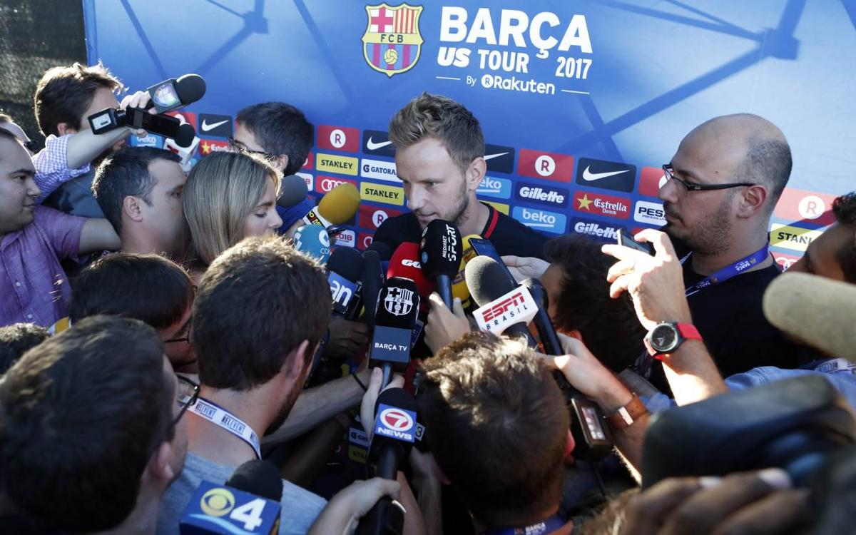 Ivan Rakitic says 'a Clásico is a Clásico'
