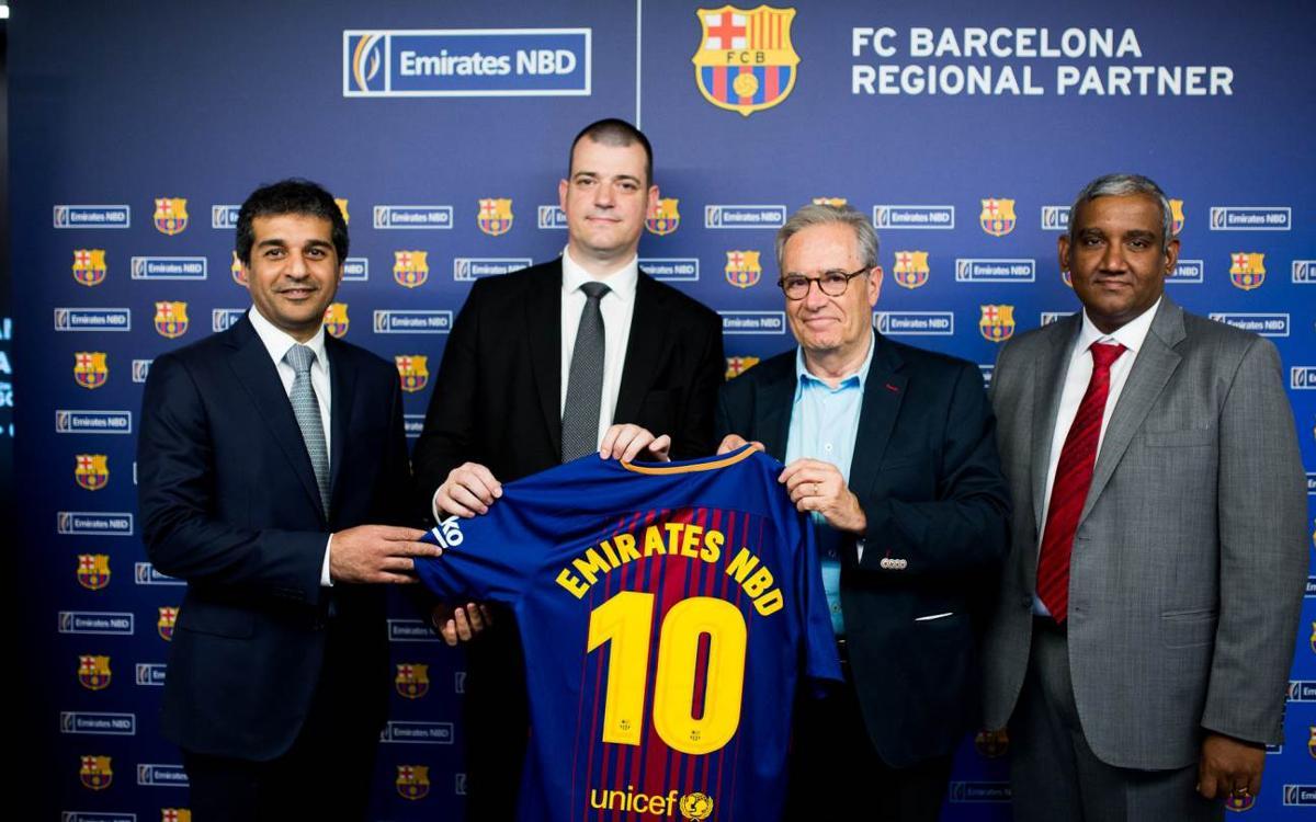 Emirates NBD Egypt, new FC Barcelona Regional Sponsor