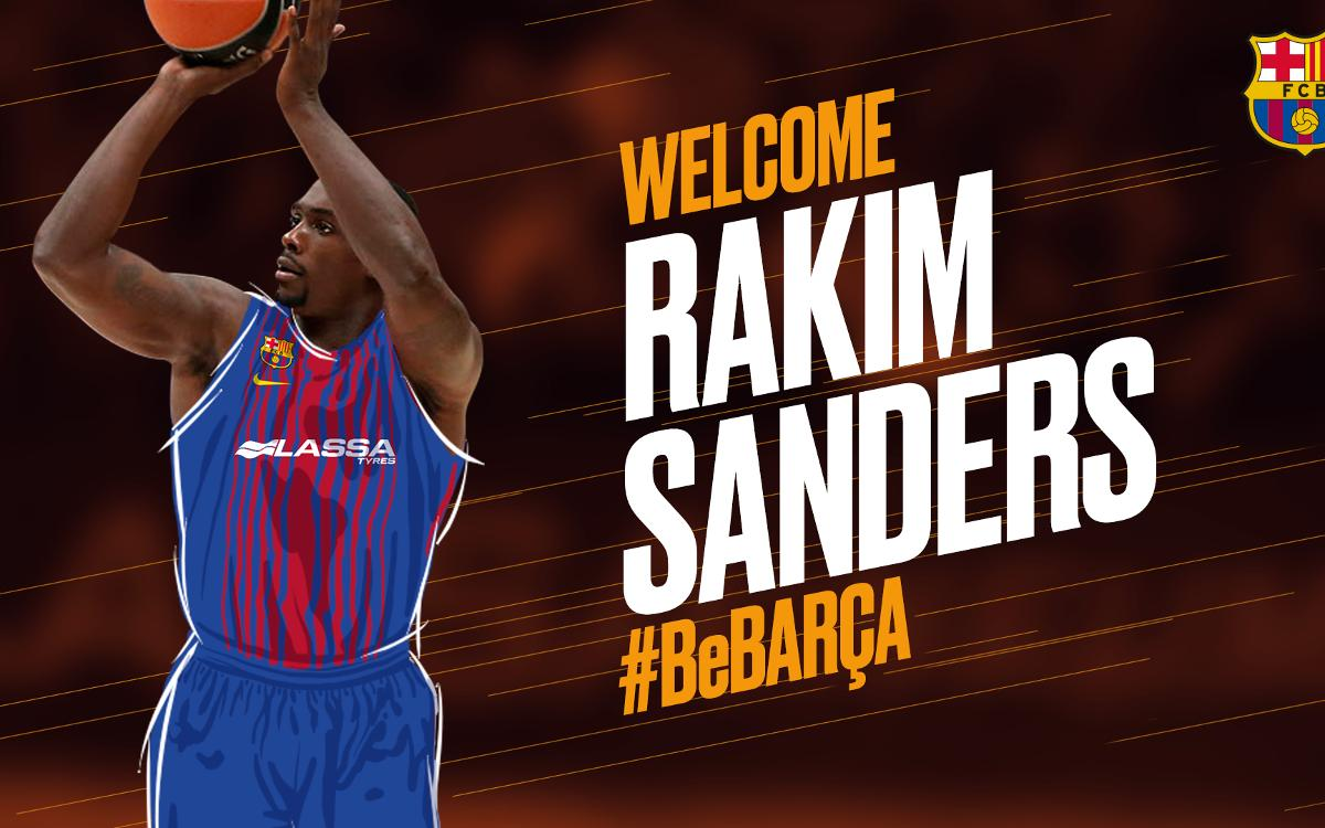 Rakim Sanders, an all-action exponent for Barça Lassa