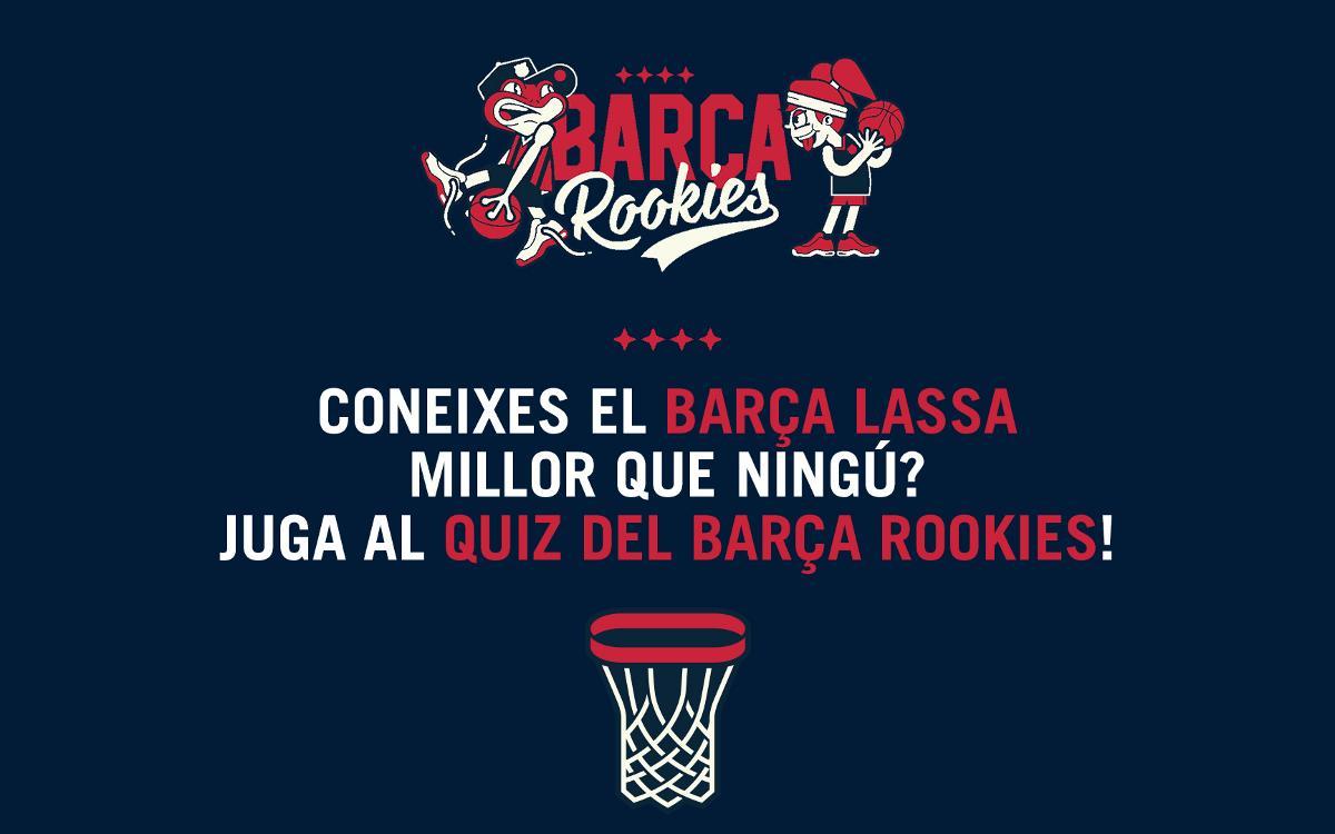 Participa al Quiz Barça Rookies, el nou concurs d'aquest estiu