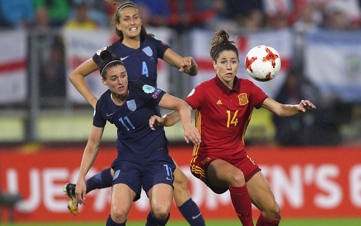 Cara y cruz para las integrantes del Barça Femenino en la segunda jornada de la Eurocopa