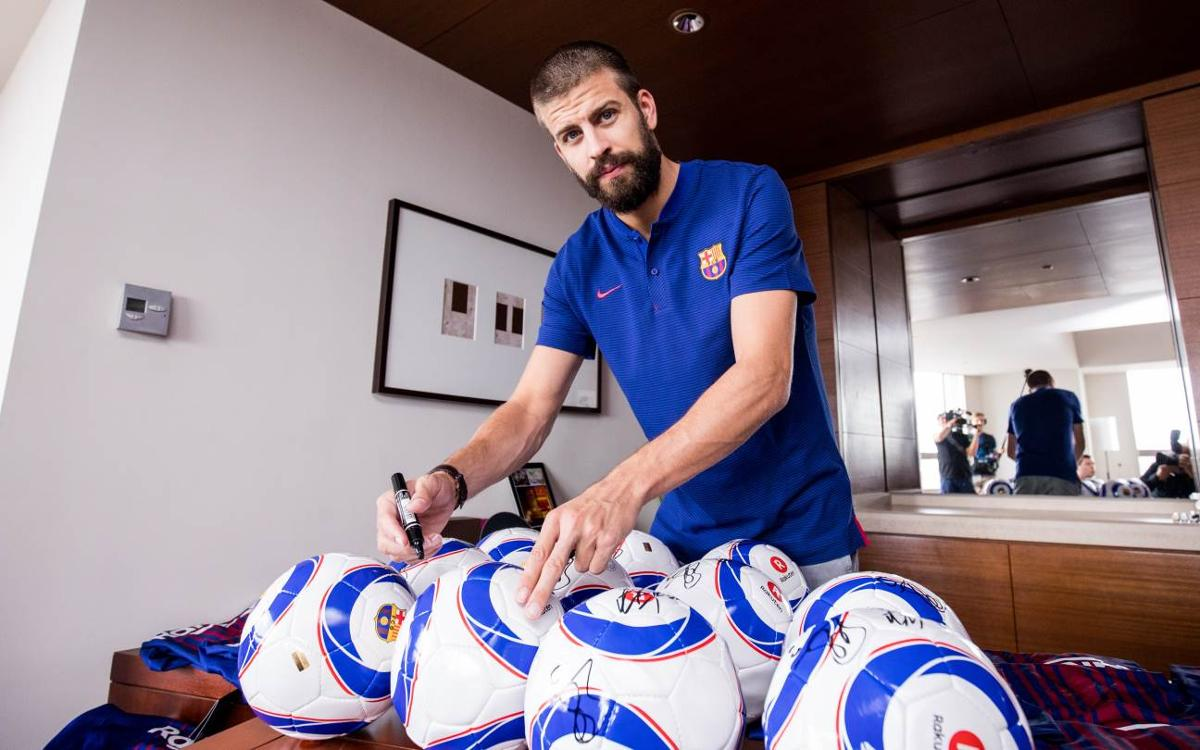 Gerard Piqué: 'It is fantastic news that the best player in the world is staying'