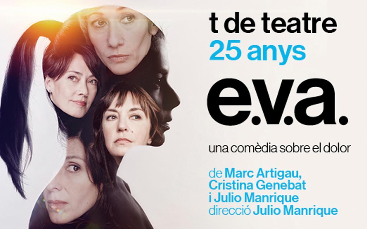 'E.V.A.' en el Teatre Romea con descuento para los socios
