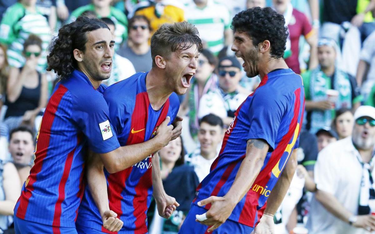 Racing v Barça B: Giant step at El Sardinero (1-4)