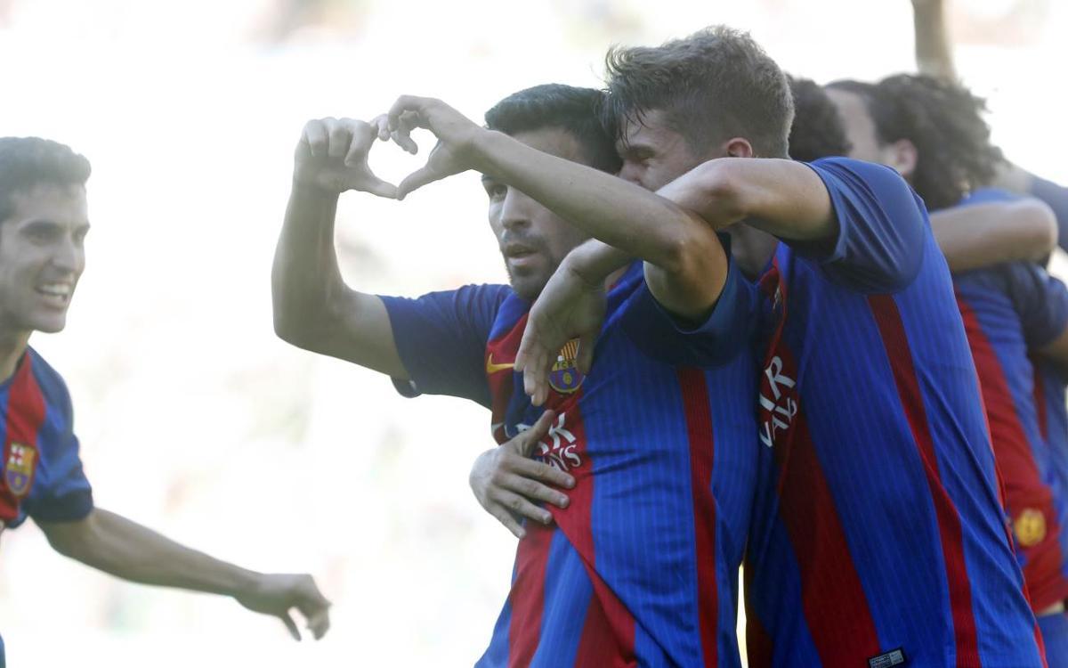 Vidéo - Le Top 5 des buts de la Masia (17-18 juin)