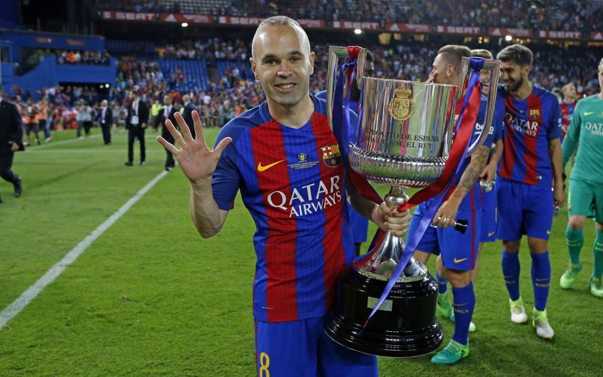 Andrés Iniesta: A final is a final and it is always difficult