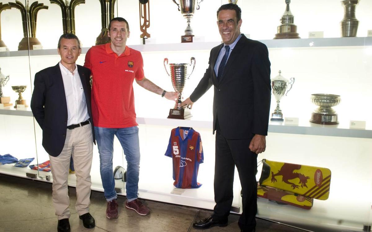 La 28ª OK Liga ya está en el Museo del FC Barcelona