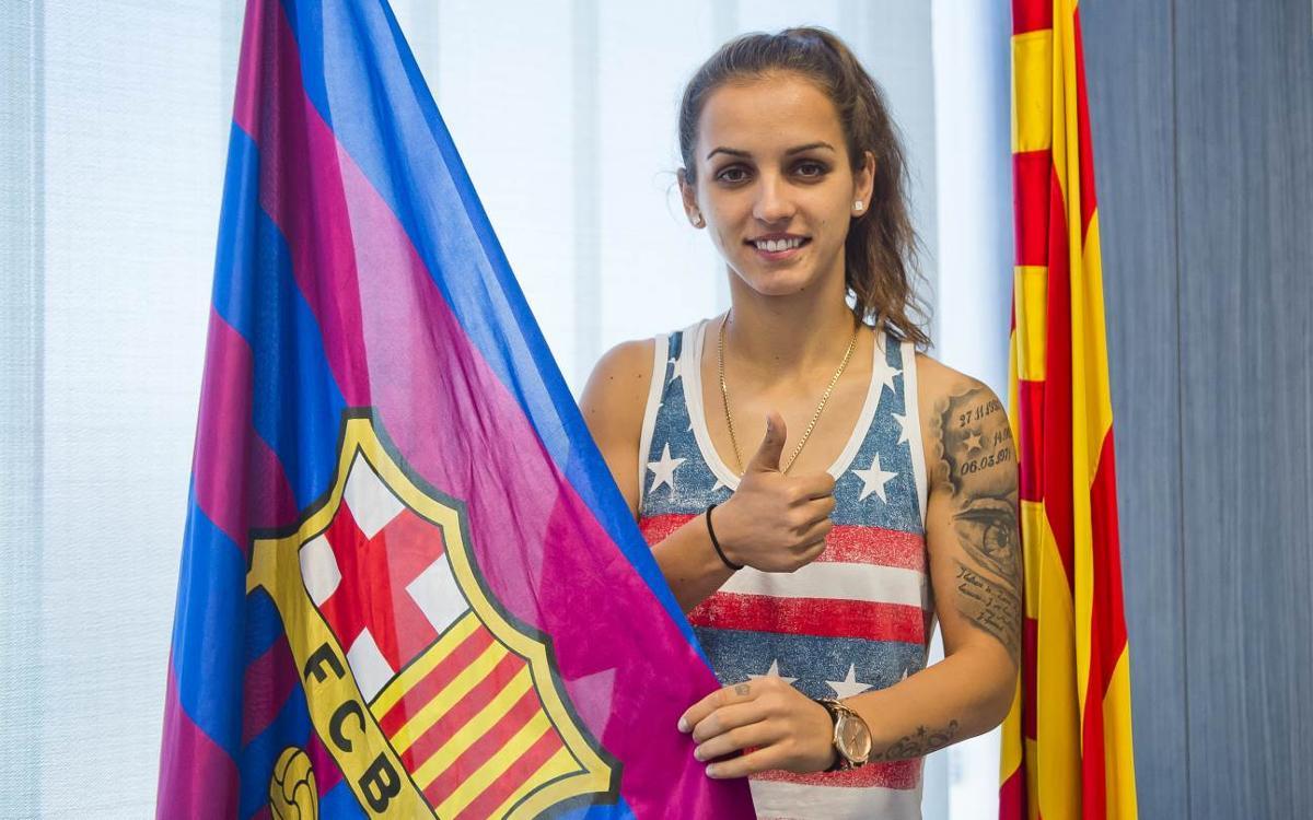 Natasa Andonova reinforces Barça Women