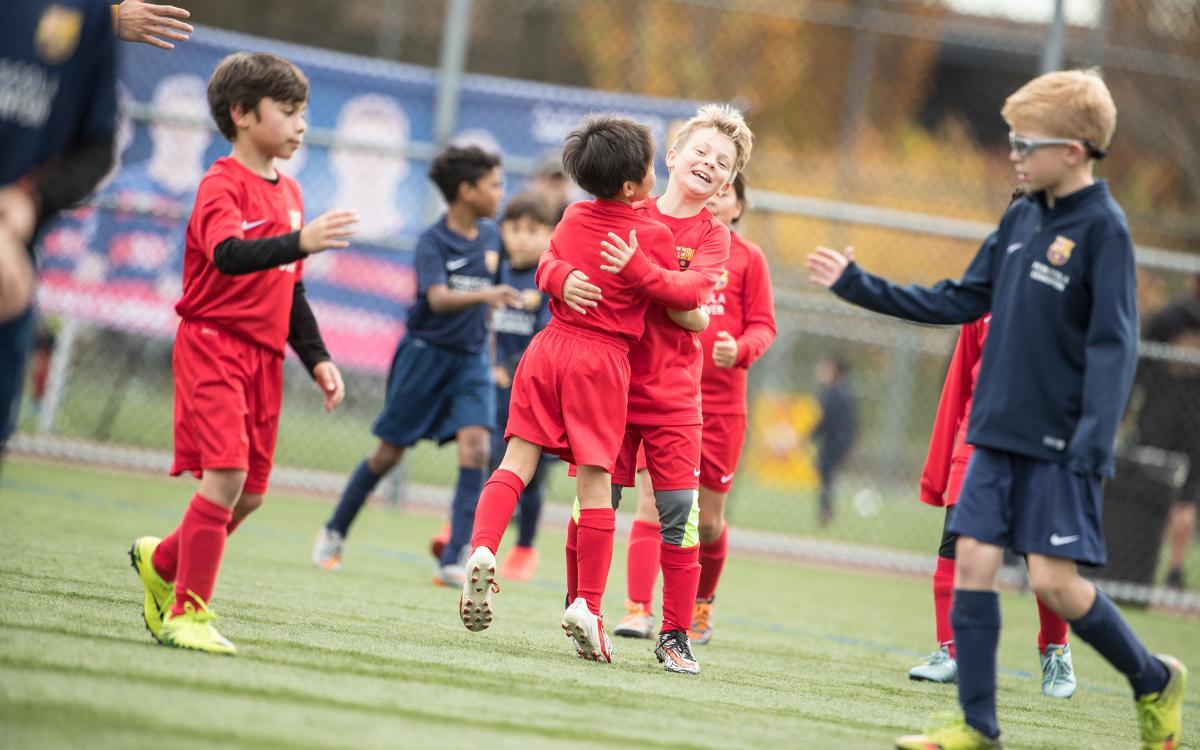 Más de 300 jóvenes participan en el primer Torneo FCBEscoles Canadá