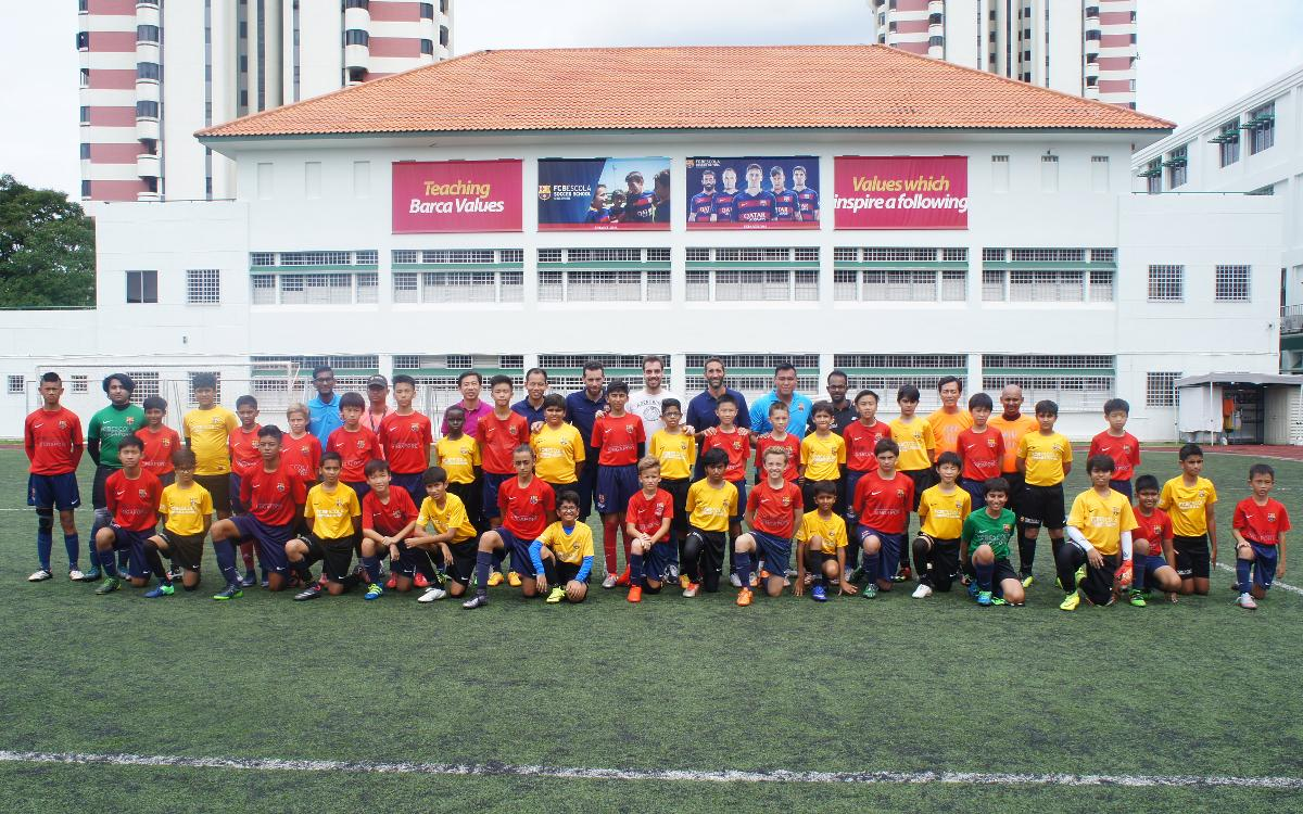 FCBEscolas of Singapore and New Delhi meet in two friendlies