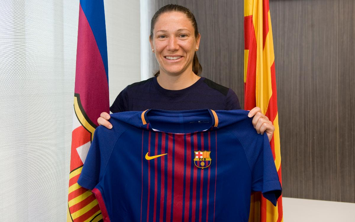 Elise Bussaglia, première recrue du Barça Féminin 2017/18