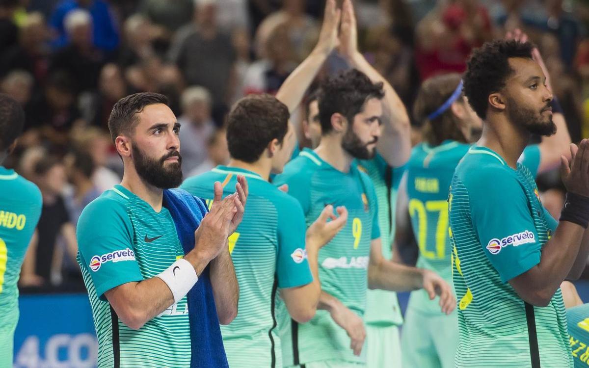 Telekom Veszprém - FC Barcelona Lassa: Derrota para decir adiós a Colonia (34-30)