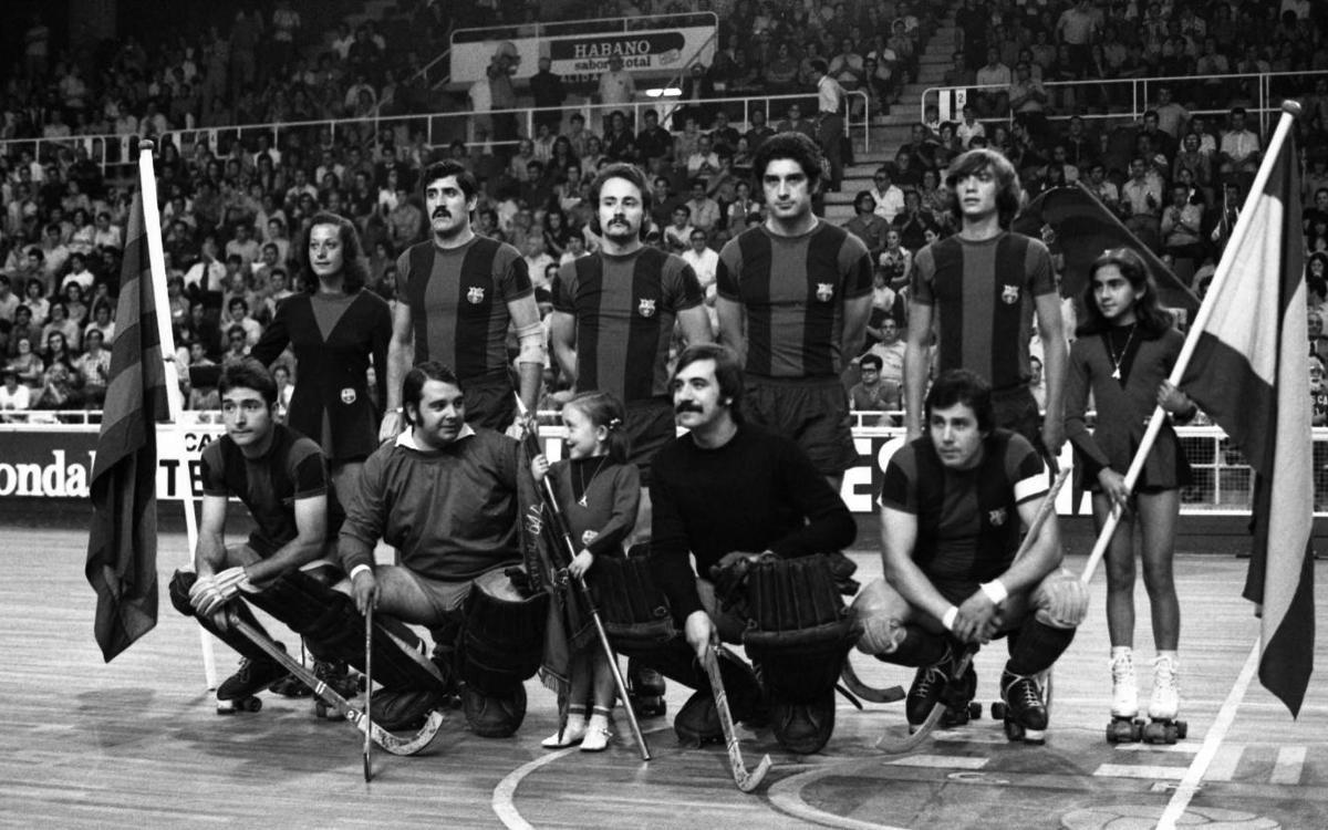 La Lliga Europea torna al Palau amb un homenatge als primers campions del 1973