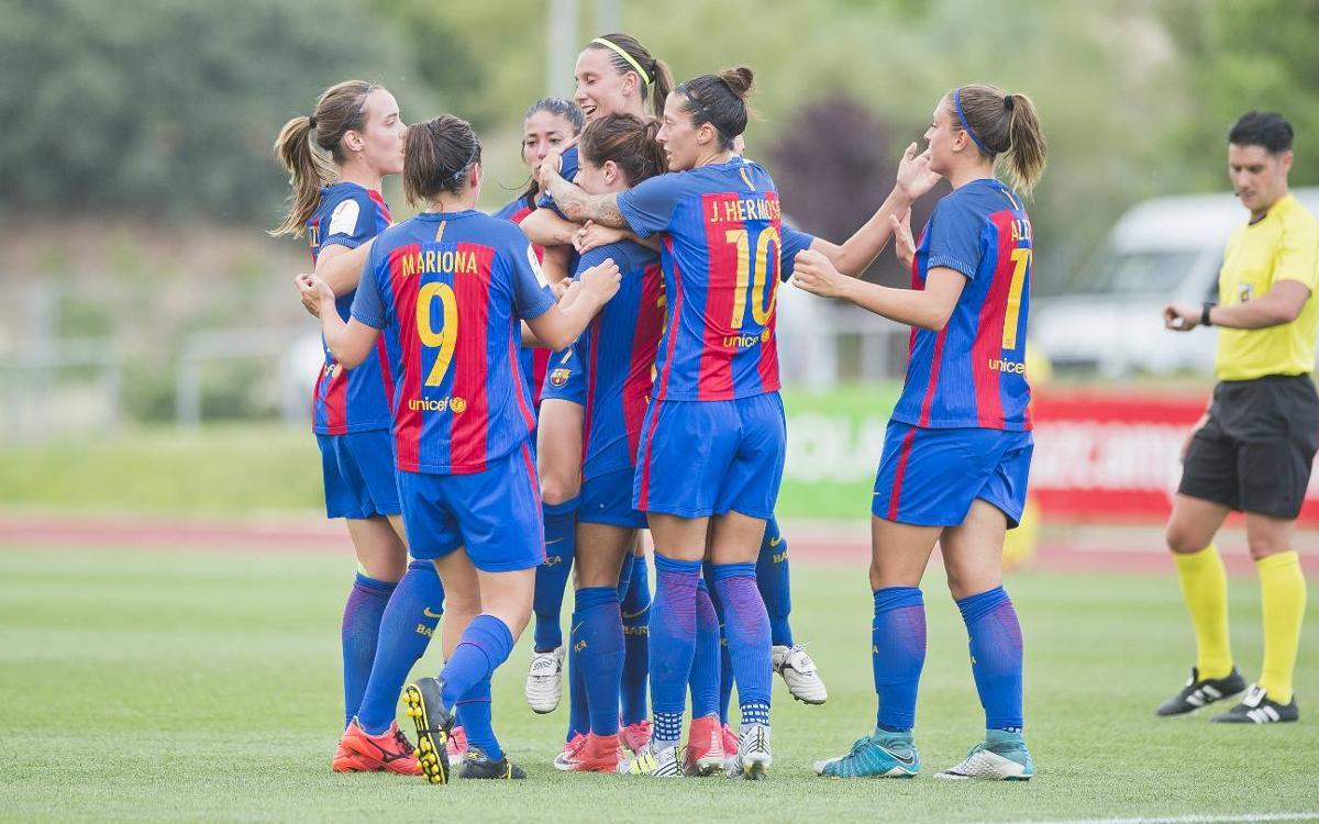FC Barcelona Women v Valencia: Through to the final! (2-1)