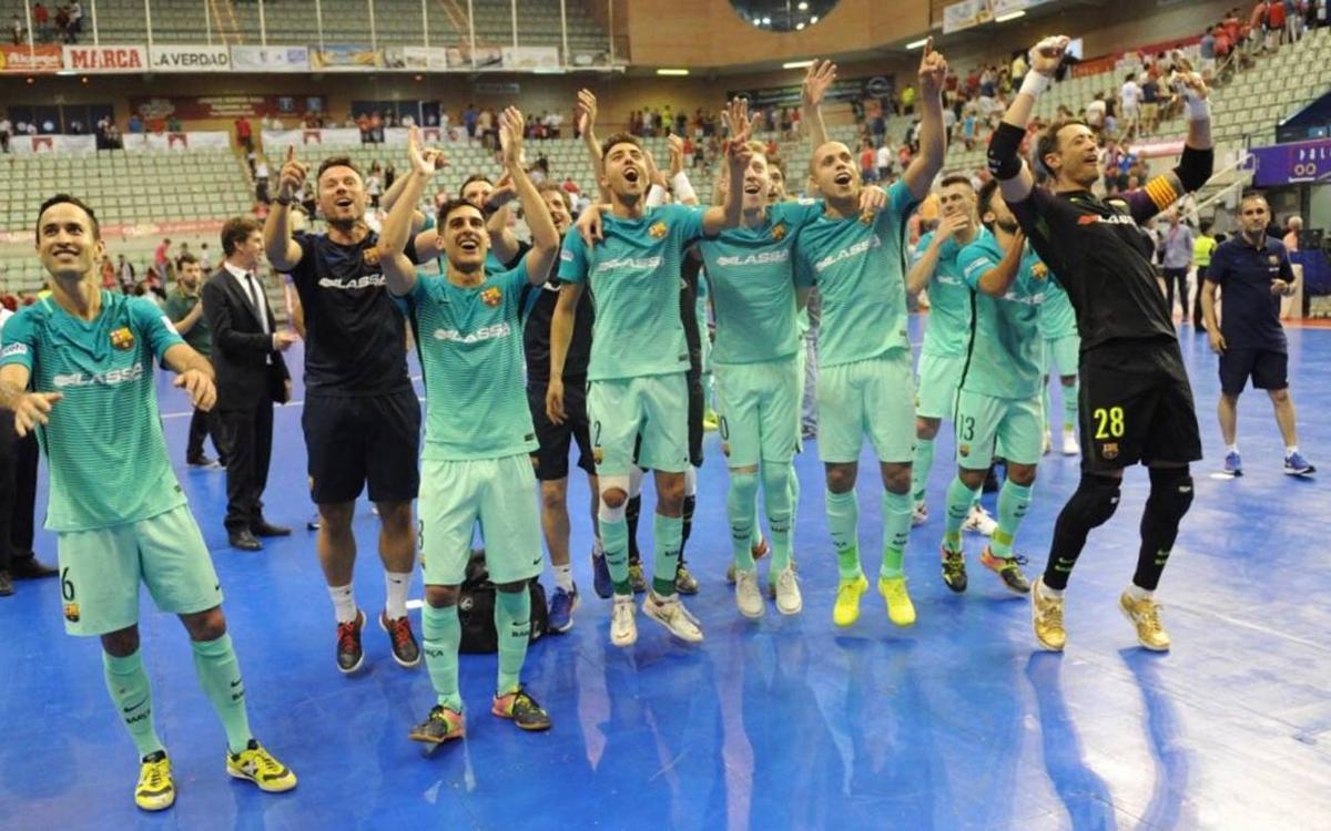 ElPozo Murcia - FC Barcelona Lassa: ¡Triunfo en los penaltis y a la final! (2-2, 1-3)