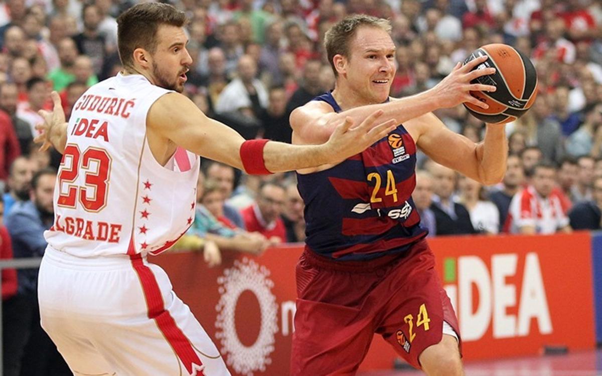 Red Star Belgrade – FC Barcelona Lassa: Errors condemn Barça to defeat (76-65)