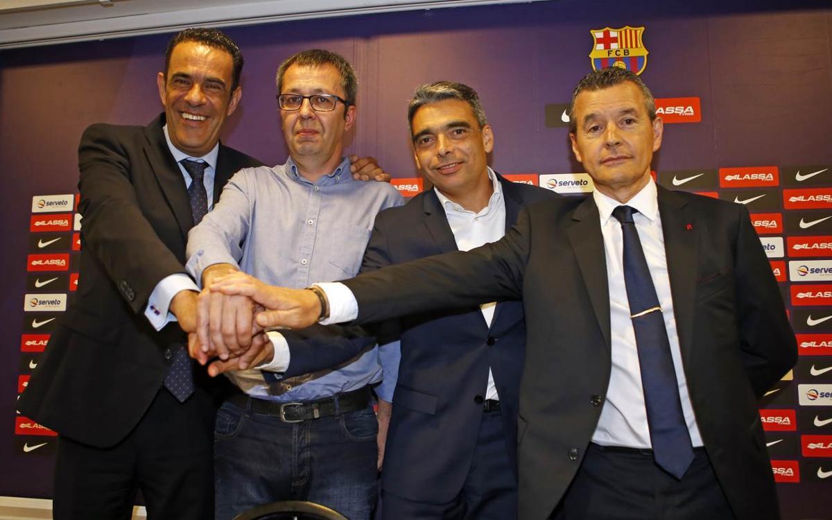 Edu Castro, nuevo entrenador del FC Barcelona Lassa