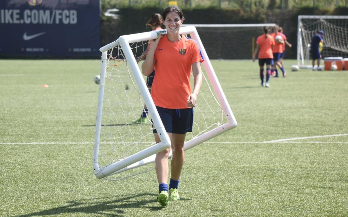 Miriam, baja para la fase final de la Copa