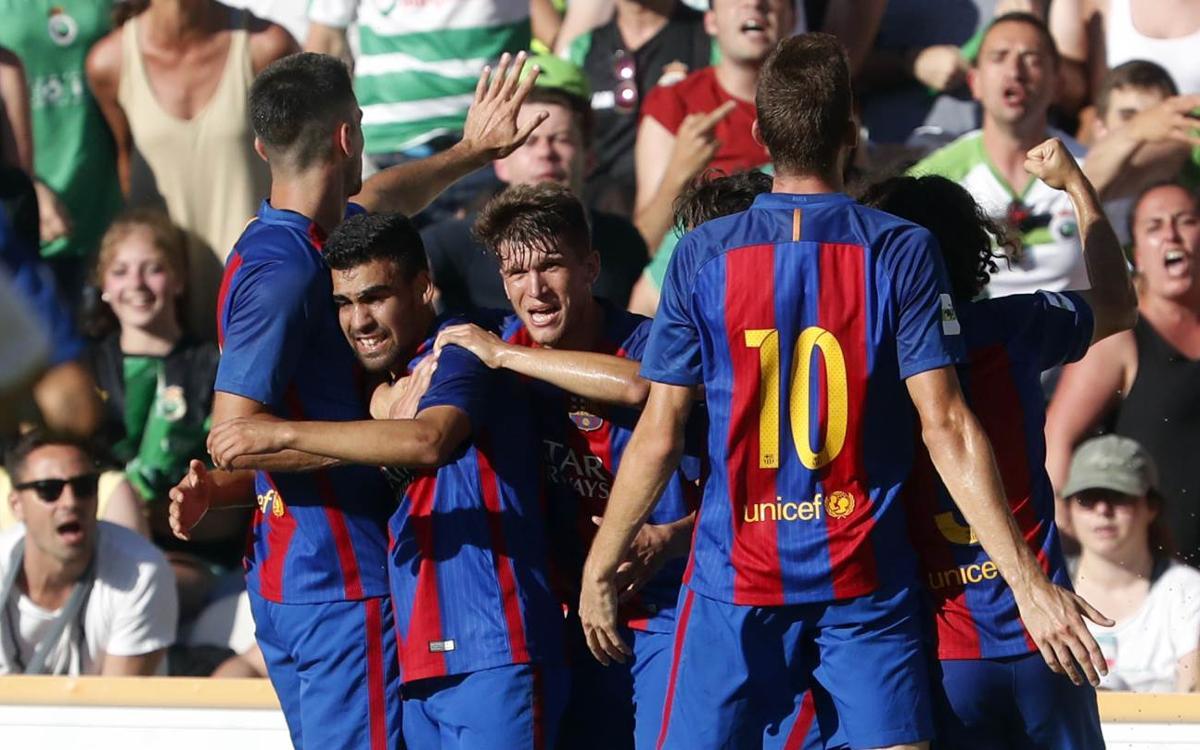 Barça B – Real Racing Club: A un pas de fer història