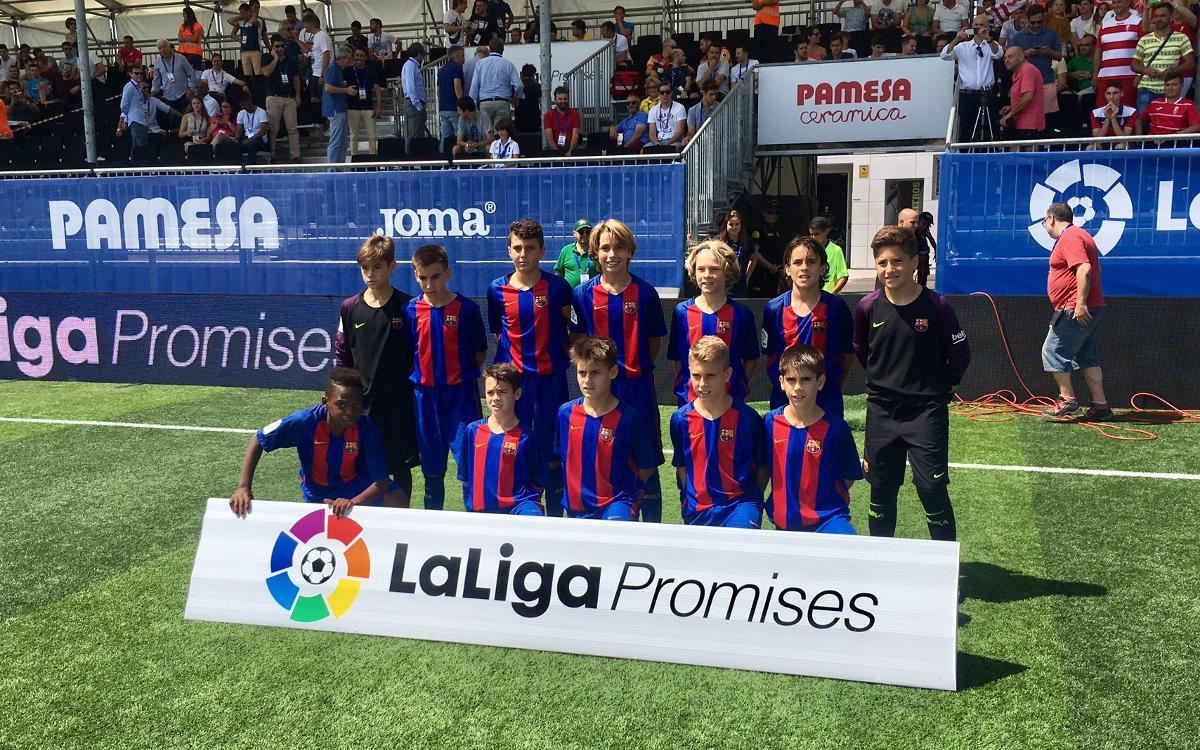 Aleví A – Las Palmas, vuitens de final de LaLiga Promises