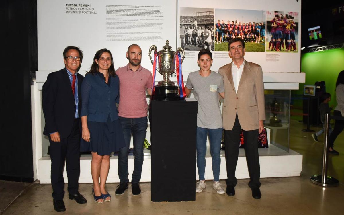 La sexta Copa ya brilla en el Museo