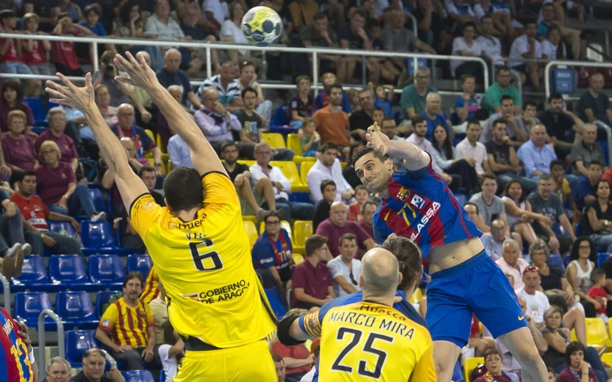FC Barcelona Lassa v Bada Huesca: Through to the semi-finals (32-19)