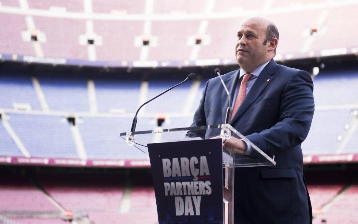 Camp Nou and Ciutat Esportiva host Barça Partners' Day