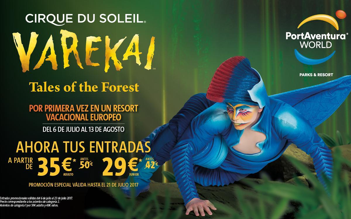 El espectáculo 'Varekai', de Cirque du Soleil, en PortAventura World