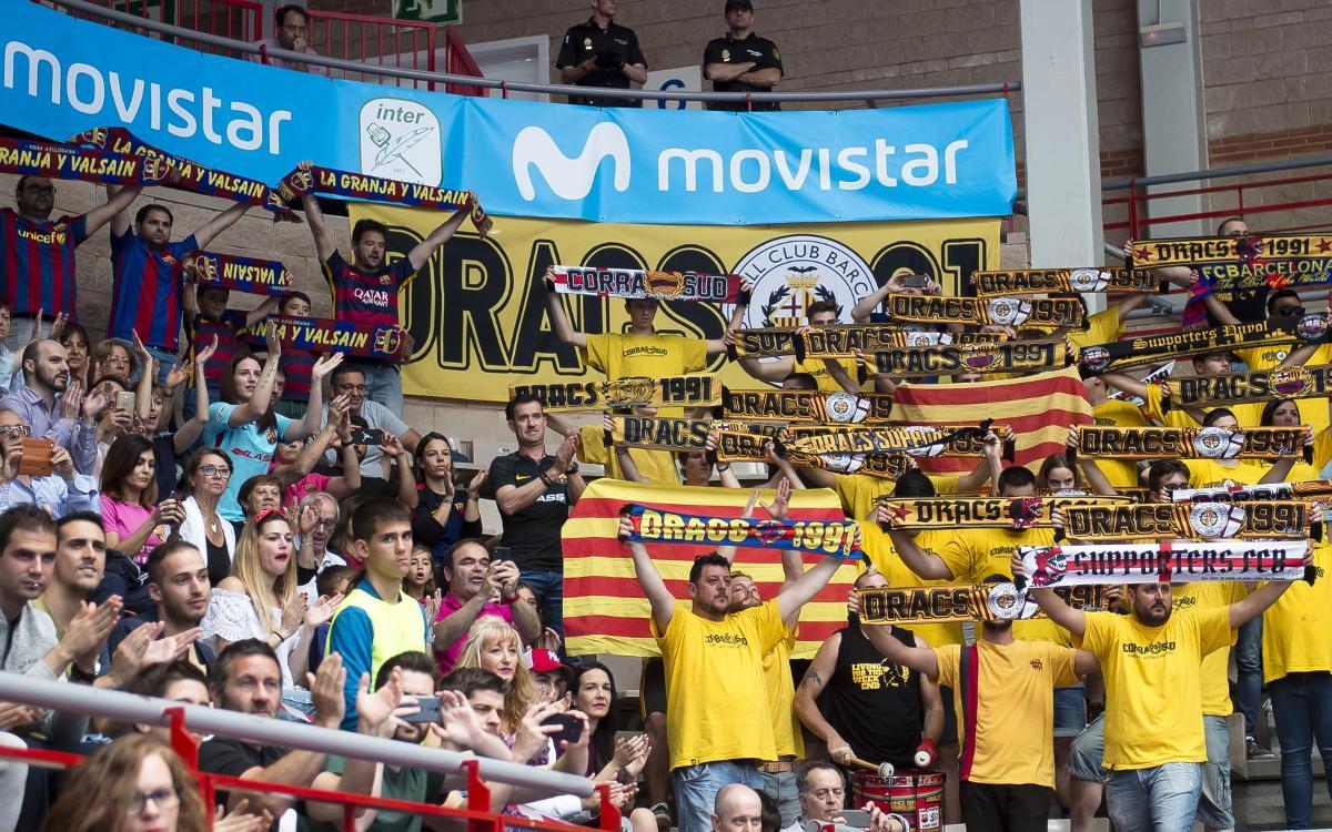 El Barça Lassa no estará solo en Torrejón