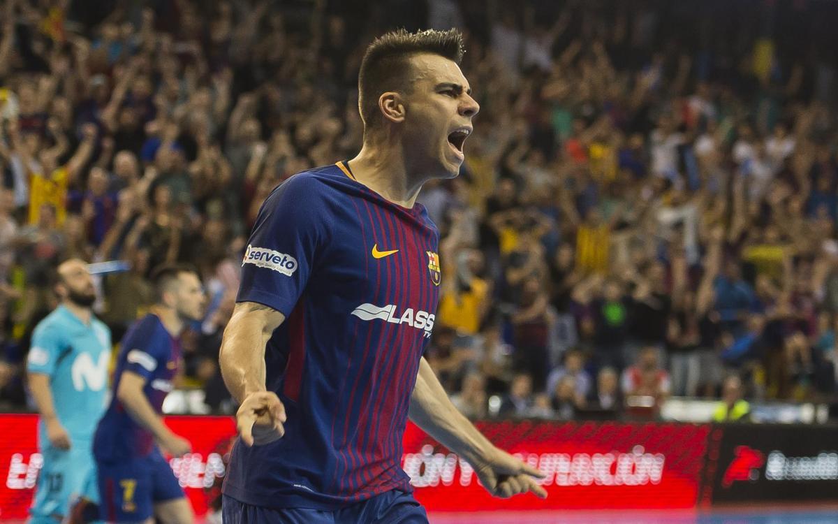 Barça Lassa – Inter Movistar: Tornaran a apel·lar a la màgia del Palau