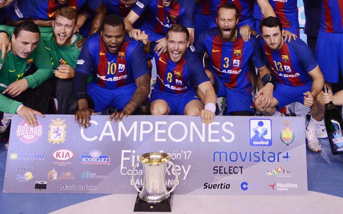 Víctor Tomás llega a los 50 títulos con el FC Barcelona