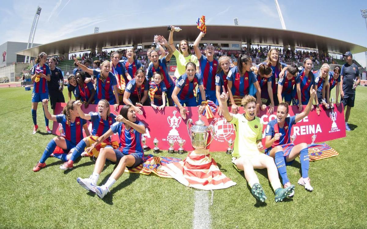 FC Barcelona Femenino - Atlético de Madrid: Campeonas de la Copa de la Reina! (4-1)