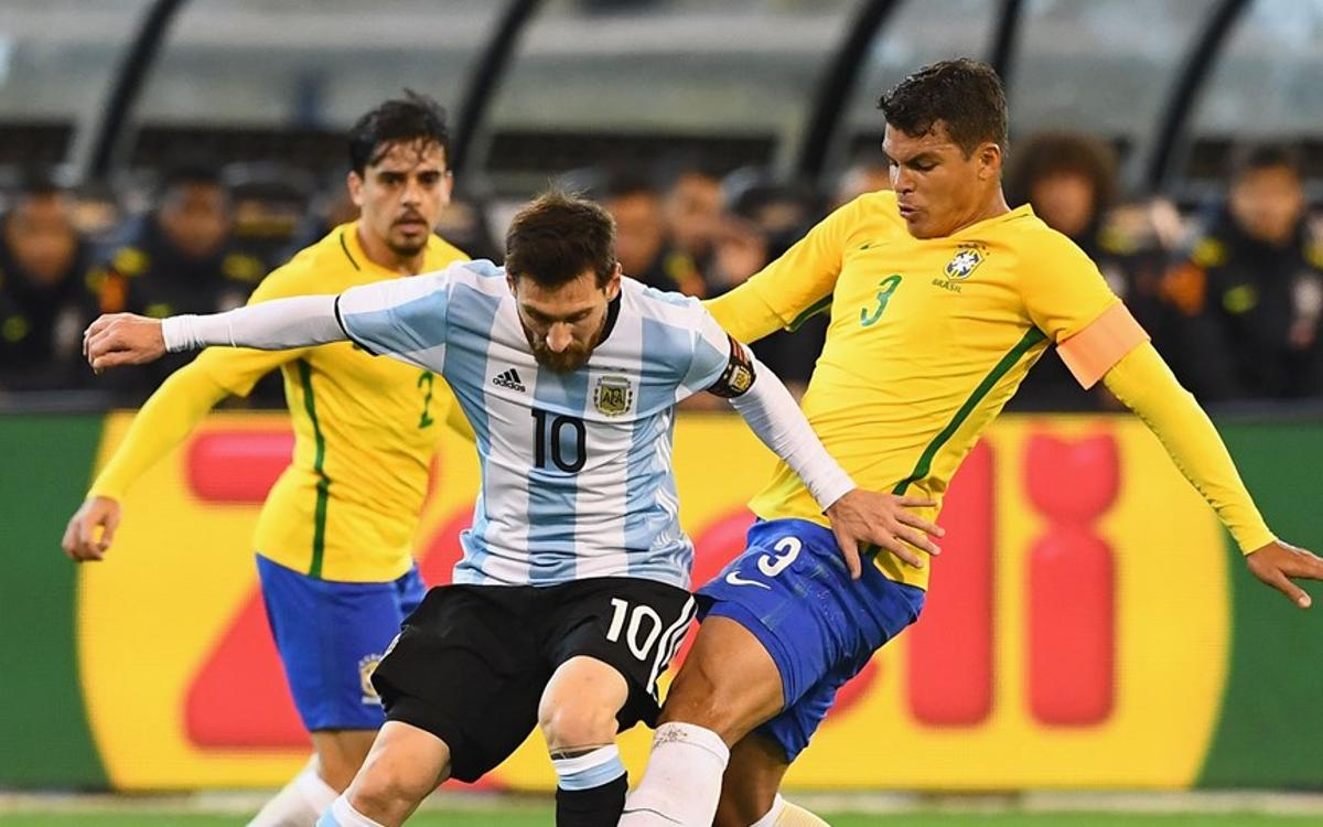 Messi's Argentina defeat Brazil in Melbourne (1-0)