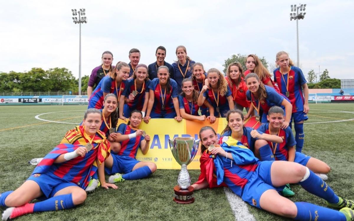 El Juvenil-Cadete, campeón de Catalunya