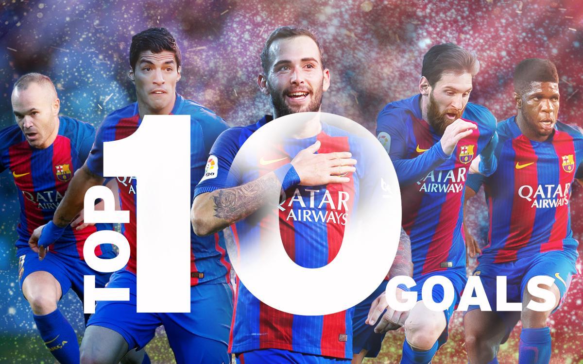 Els 10 millors gols de la temporada