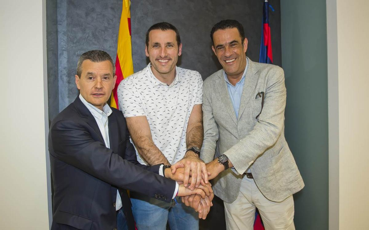 Aitor Egurrola renueva con el Barça Lassa hasta el 2019