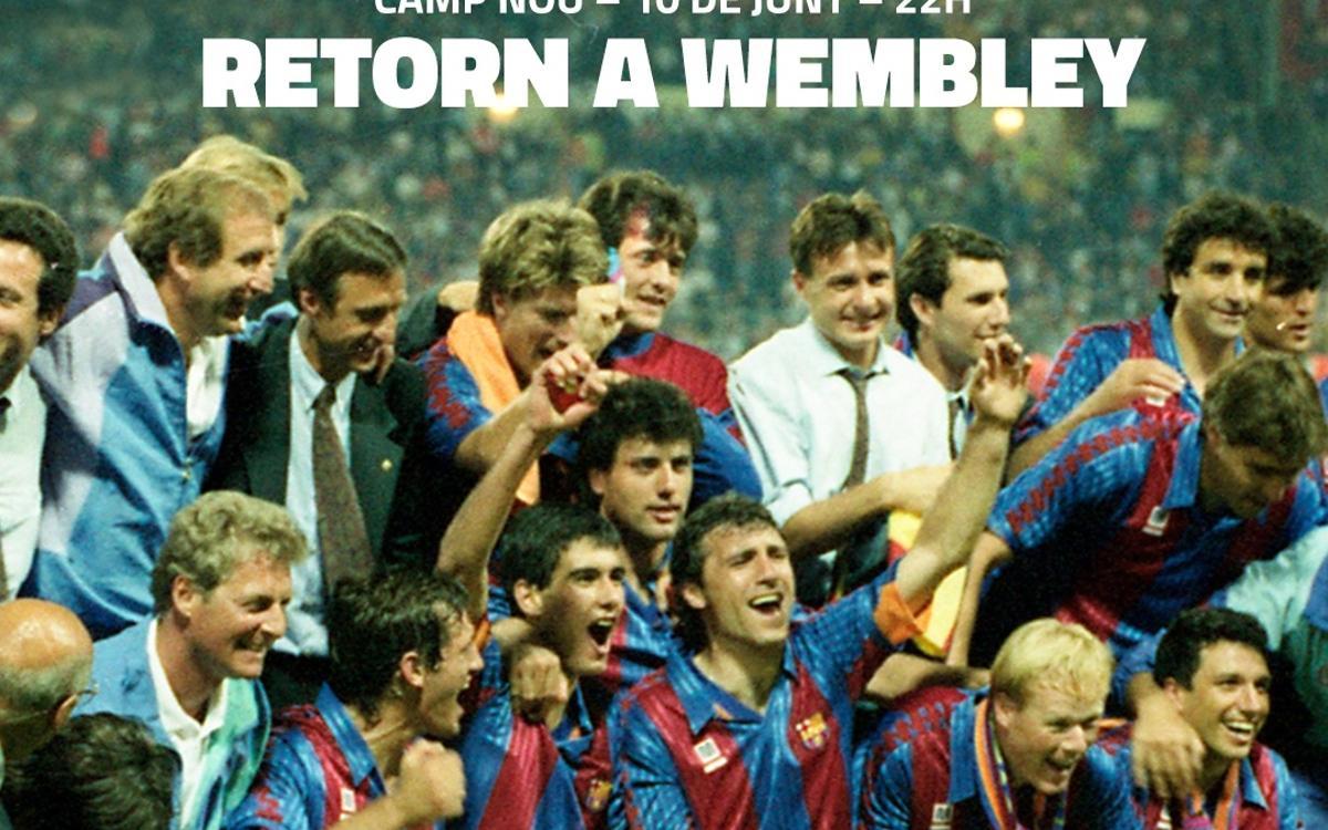 El 'Regreso a Wembley' del 10 de junio en el Camp Nou contará con las actividades de una Fan Zone a partir de las 12 h