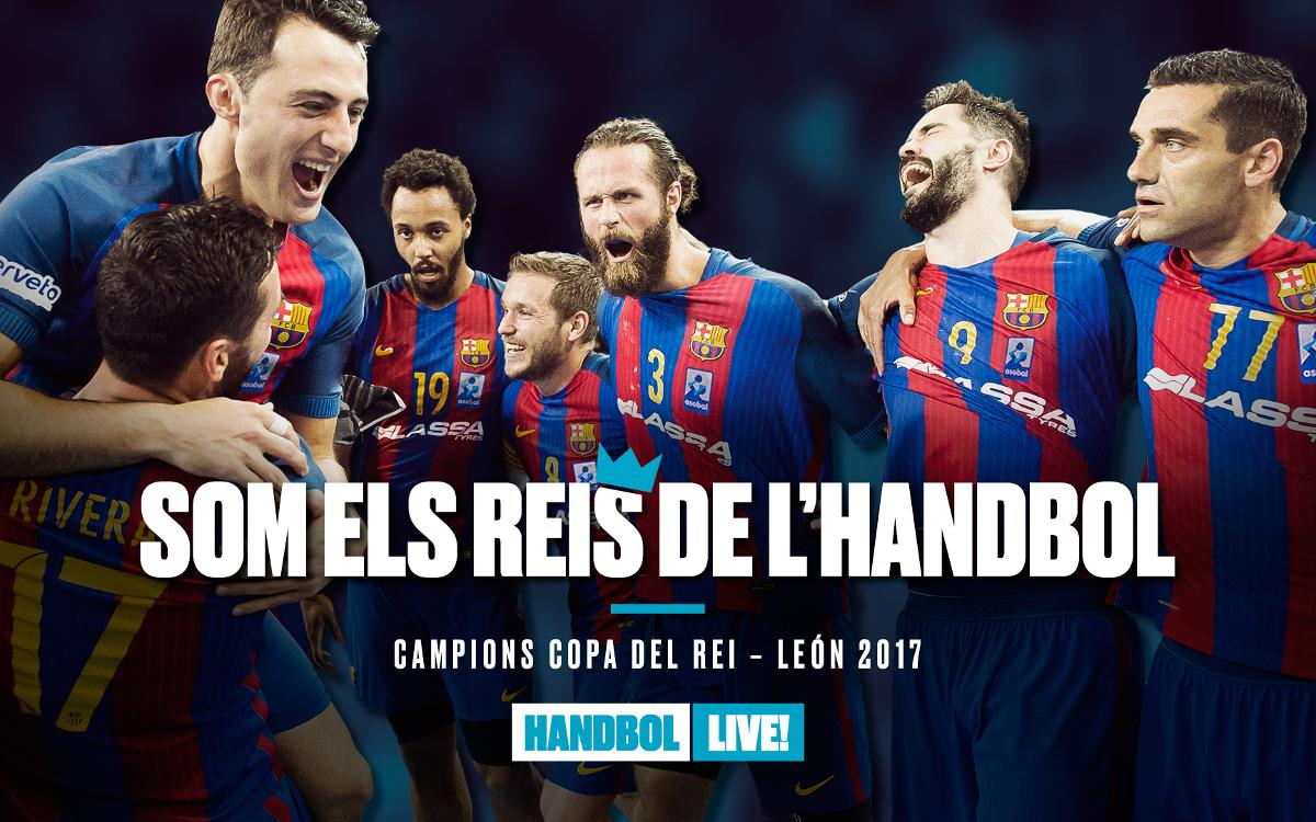 Quarta Copa del Rei consecutiva del Barça Lassa