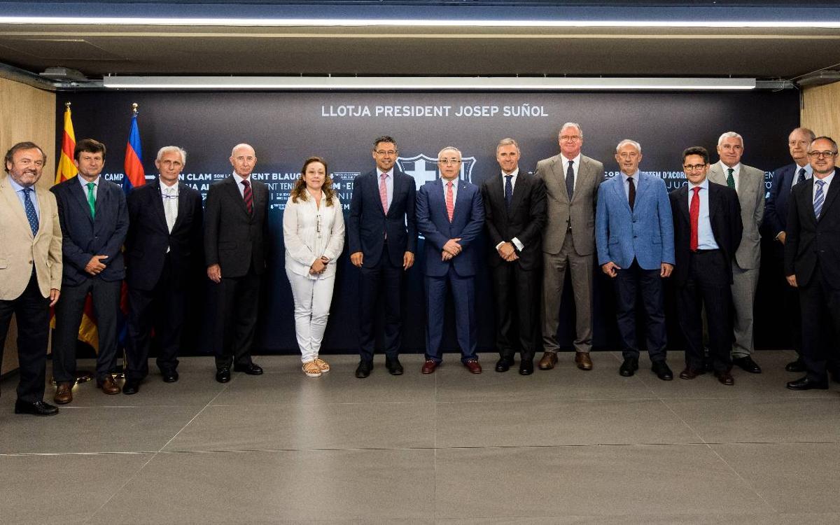 El FC Barcelona, anfitrión de la reunión del grupo de instituciones de Barcelona
