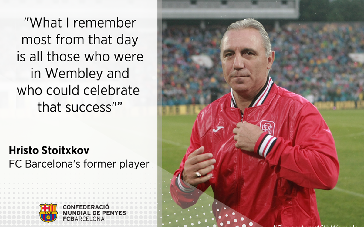 Stoichkov highlights the fundamental role of the Supporters Clubs