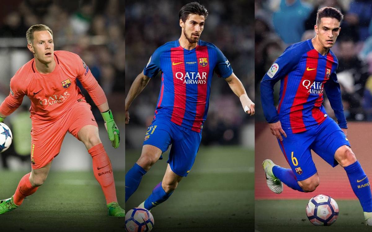 Paso firme de los jugadores del Barça con sus selecciones