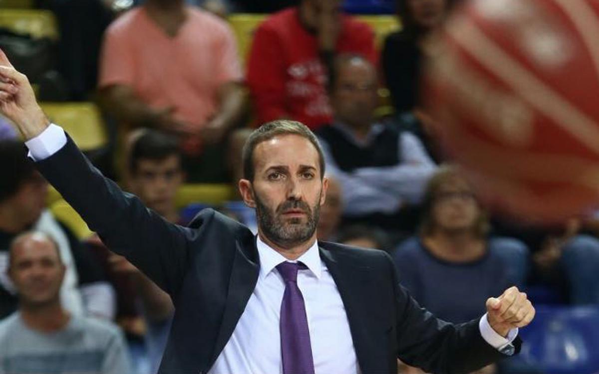 Sito Alonso serà presentat aquest dimarts 20 com a nou entrenador del Barça Lassa